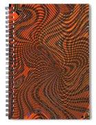 Octopus Red Spiral Notebook