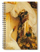 Odalisque Spiral Notebook