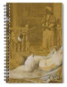 Odalisque With Slave Spiral Notebook