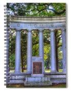 Odd Fellows Memorial Spiral Notebook