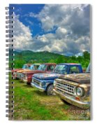 Odd Man Out Fords And Friend  Spiral Notebook
