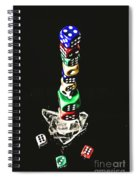 Odds Stacked Up Spiral Notebook
