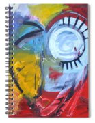 Ode To Jim Dine Spiral Notebook