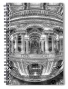 Ode To Mc Escher Library Of Congress Orb Horrizontal Spiral Notebook