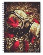 Ode To The Fallen Spiral Notebook