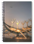 Ode To The Sun 0635 Spiral Notebook