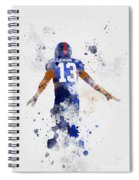 Odell Beckham Jr Spiral Notebook