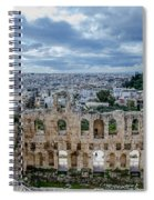 Odeon Of Herodes Atticus - Athens Greece Spiral Notebook