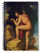 Oedipus And The Sphinx 1808 Spiral Notebook