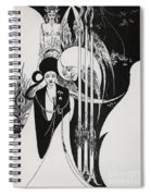 Of A Neophyte And How The Black Art Was Revealed Unto Him Spiral Notebook