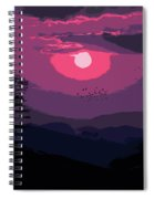 Of Skies And Magic Spiral Notebook
