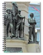 Of Soldiers And Sailors Spiral Notebook
