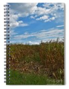 Of The Corn  Spiral Notebook