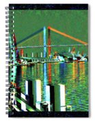Of Time And The Savannah River Bridge Spiral Notebook