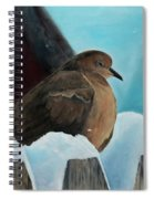 Of Winters Past Spiral Notebook