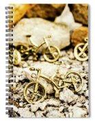 Off Road Bike Trinkets Spiral Notebook