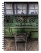 Off Set Control Spiral Notebook