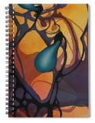 Off Stepping Spiral Notebook