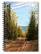 Off The Alaska Highway Spiral Notebook