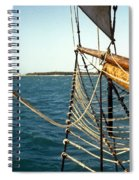 Off The Bow Spiral Notebook
