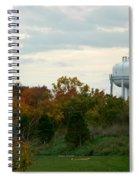Off The Green-golf Course Spiral Notebook