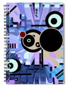 Off The Grid 61 Spiral Notebook