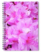 Office Art Azalea Flowers Botanical 31 Azaleas Giclee Art Prints Baslee Troutman Spiral Notebook