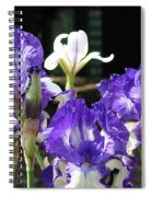Office Art Prints Iris Flower Botanical Landscape 30 Giclee Prints Baslee Troutman Spiral Notebook