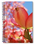Office Art Prints Pink Dogwood Tree Flowers 4 Giclee Prints Baslee Troutman Spiral Notebook