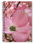 Office Art Prints Pink Flowering Dogwood Tree 1 Giclee Prints Baslee Troutman Spiral Notebook