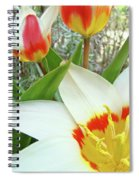 Office Art Tulips Tulip Flowers Giclee Art Prints Florals Baslee Troutman Spiral Notebook