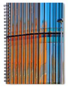 Office Colors Spiral Notebook