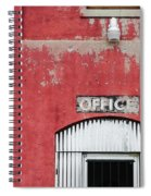 Office Door - Architecture Spiral Notebook