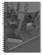 Office Four Spiral Notebook