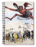Office Hunters Of 1834: Spiral Notebook