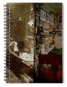 Office - Ole Tobias Olsen 1900 - Side By Side Spiral Notebook