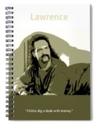 Office Space Lawrence Diedrich Bader Movie Quote Poster Series 006 Spiral Notebook