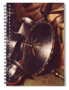 Officer Of The Marksman Society In Leiden Detail Spiral Notebook