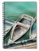 Ogunquit Maine Skiffs Spiral Notebook