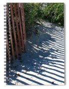 Ogunquit Shadows Spiral Notebook