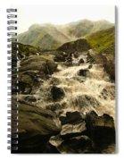 Ogwen Falls Spiral Notebook