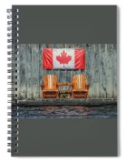Oh Canada Spiral Notebook