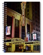 Ohio And State Theaters Spiral Notebook