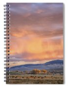 Ohio Pass Colorado Sunset Dsc07562 Spiral Notebook