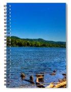 Ohio River Bank Spiral Notebook