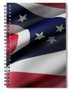 Ohio State Flag Spiral Notebook