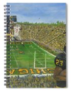 Ohio State Vs. Michigan 100th Game Spiral Notebook