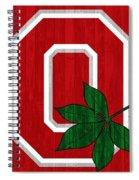 Ohio State Wood Door Spiral Notebook