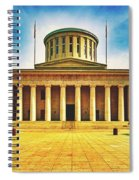Ohio Statehouse Spiral Notebook