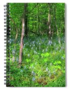 Ohio Wildflowers In Spring Spiral Notebook